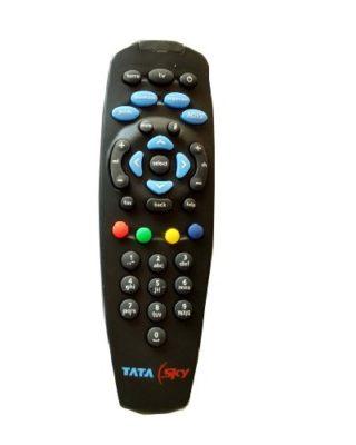 TataSky Black Remote Control