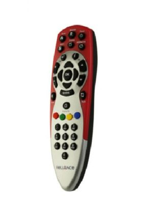 Reliance Big TV Set Top Box Remote