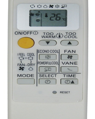 MP07A MITSUBISHI AC Remote Control