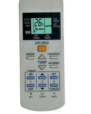AT75C3297/A75C3297 Panasonic AC Remote Control