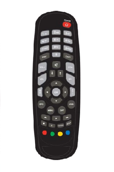 Cisco Receiver Remote Control