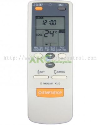 AR-JE27 O GENERAL AIR CONDITIONING REMOTE CONTROL