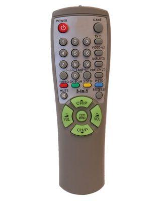 TV REMOTE Model: 00258A