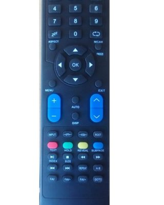 futec led / lcd tv remote control