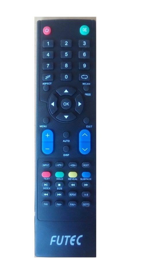 futec led / lcd tv remote control