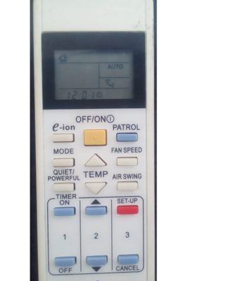 PANASONIC AC REMOTE