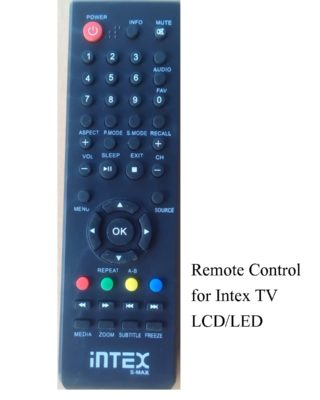 Remote Control for Intex TV LCD/LED