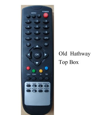 hathway set top old remote