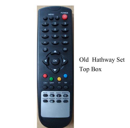 hathway set top old remote