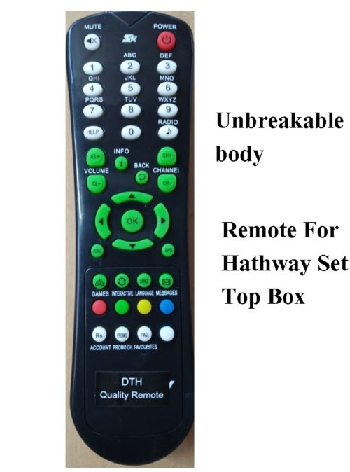 hathway set top remote