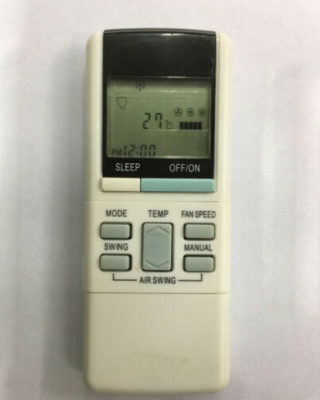 Panasonic air conditioner remote