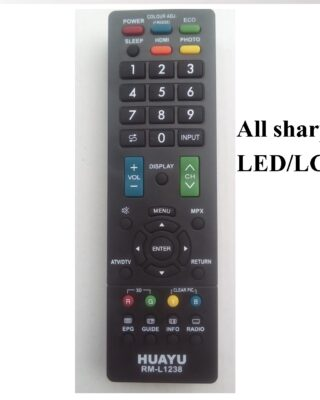 sharp led remote