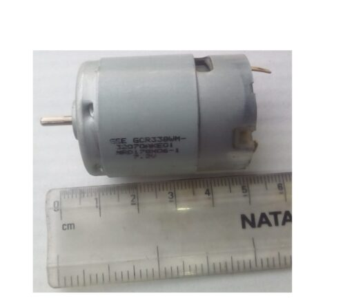 DC motor 7.2 volt