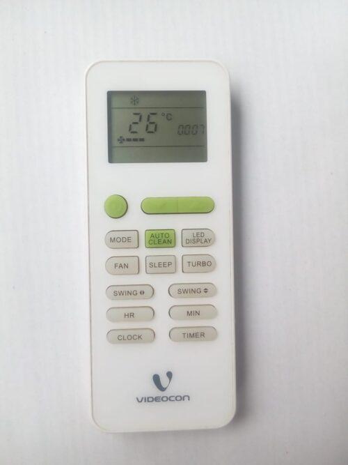 Videocon AC remote